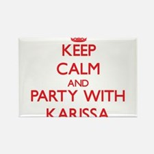Keep Calm and Party with Karissa Magnets