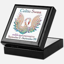 Celtic Swan Keepsake Box