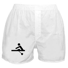 Rowing Crew Pictogram Boxer Shorts