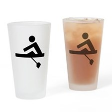Rowing Crew Pictogram Drinking Glass