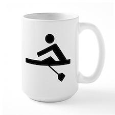 Rowing Crew Pictogram Mugs