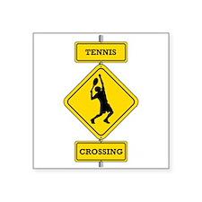 Tennis Crossing Sticker