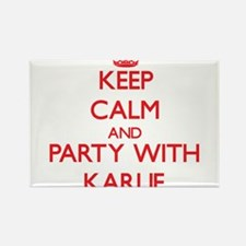 Keep Calm and Party with Karlie Magnets
