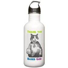 Based Cat Water Bottle