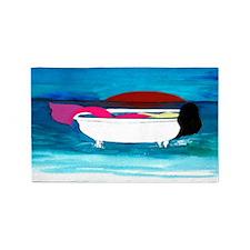 Bathtub Mermaid 3'X5' Area Rug