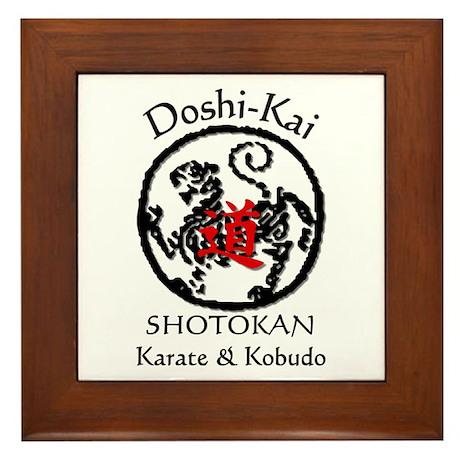 Doshi-Kai Shotokan Dojo Framed Tile