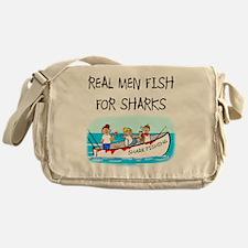 Real men Messenger Bag
