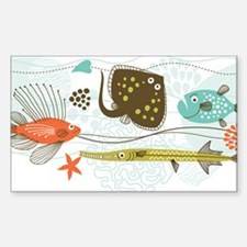 Sea Life Decal