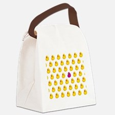 Rubber Ducky Odd One Out - Patter Canvas Lunch Bag