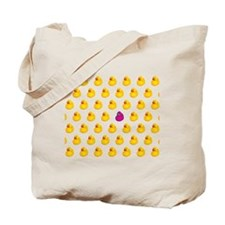 Rubber Ducky Odd One Out - Pattern Tote Bag