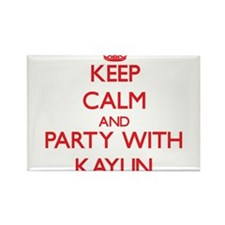 Keep Calm and Party with Kaylin Magnets