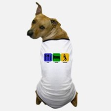 Eat Sleep Tennis Dog T-Shirt