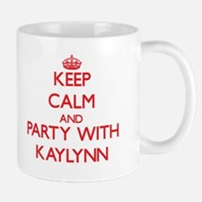 Keep Calm and Party with Kaylynn Mugs
