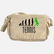 Tennis Evolution (Green) Messenger Bag