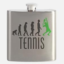 Tennis Evolution (Green) Flask
