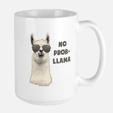 No Problem Llama Mugs
