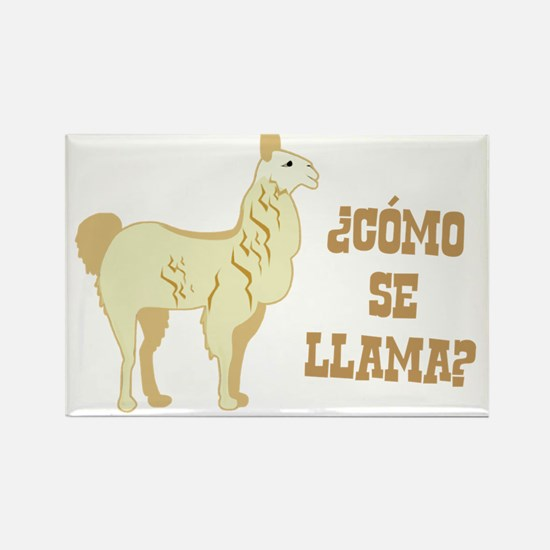 Como Se Llama? What is your name? Magnets