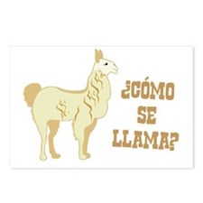 Como Se Llama? What is your name? Postcards (Packa