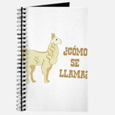 Como Se Llama? What is your name? Journal