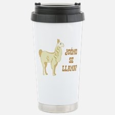Como Se Llama? What is your name? Travel Mug