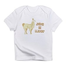 Como Se Llama? What is your name? Infant T-Shirt