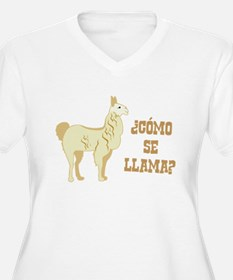 Como Se Llama? What is your name? Plus Size T-Shir
