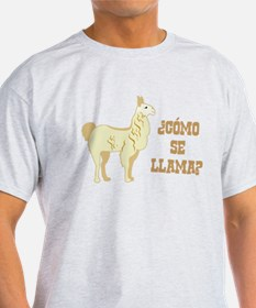 Como Se Llama? What is your name? T-Shirt