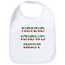 Nonno Knows Best Bib