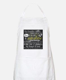 My Daughter Love and Inspirational Apron