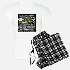 My Daughter Love and Inspir Pajamas