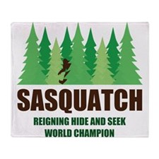 Bigfoot Sasquatch Hide and Seek World Champion Thr
