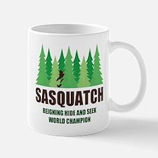 Bigfoot Sasquatch Hide and Seek World Champion Mug