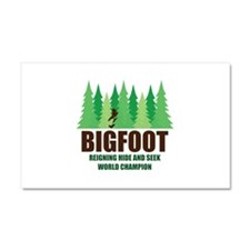 Bigfoot Sasquatch Hide and Seek World Champion Car