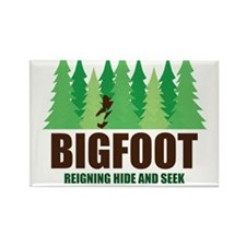 Bigfoot Sasquatch Hide and Seek World Champion Mag