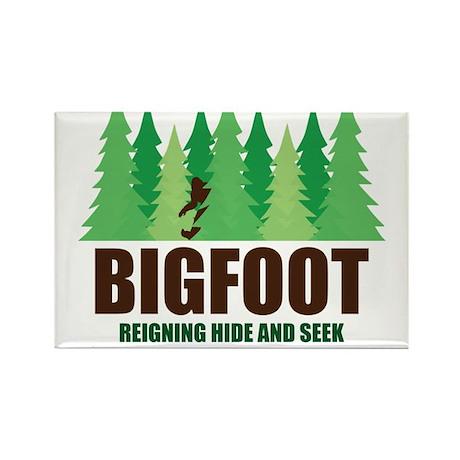 Bigfoot Sasquatch Hide and Seek World Champion Mag