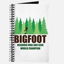 Bigfoot Sasquatch Hide and Seek World Champion Jou