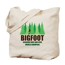 Bigfoot Sasquatch Hide and Seek World Champion Tot