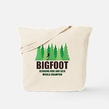 Bigfoot Sasquatch Hide and Seek World Champion Tot