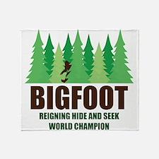Bigfoot Sasquatch Hide and Seek World Champion Thr