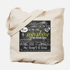 Grandchildren Love and Inspirational Tote Bag