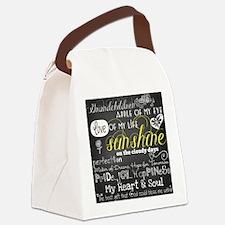 Grandchildren Love and Inspiratio Canvas Lunch Bag