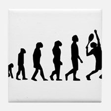 Tennis Evolution Tile Coaster