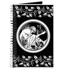 Merlin Art Nouveau fantasy Journal