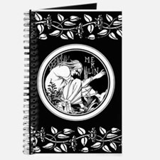 Merlin Art Nouveau fantasy Journal