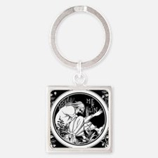 Merlin Art Nouveau fantasy Keychains