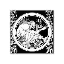 Merlin Art Nouveau fantasy Sticker