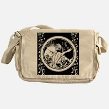 Merlin Art Nouveau fantasy Messenger Bag