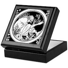 Merlin Art Nouveau fantasy Keepsake Box