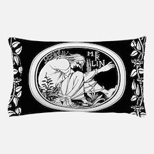Merlin Art Nouveau fantasy Pillow Case