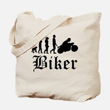Biker Evolution Motorcycle Tote Bag